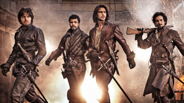 The Musketeers season two