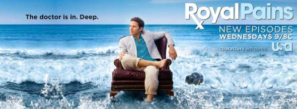 Royal Pains TV show on USA: season six ratings