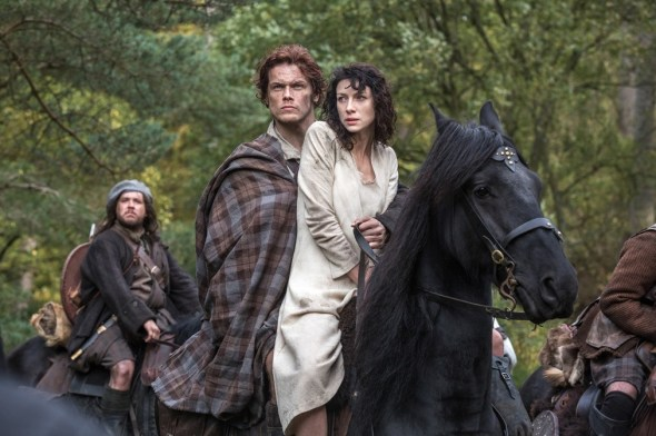 Outlander TV show on Starz ratings