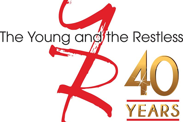 """The Young and the Restless"" anniversary logo courtesy CBS."