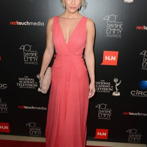 Actress Linsey Godfrey (The Bold and the Beautiful)  attends The 40th Annual Daytime Emmy Awards at The Beverly Hilton Hotel on June 16, 2013 in Beverly Hills, California. - Source: Mark Davis/Getty Images North America