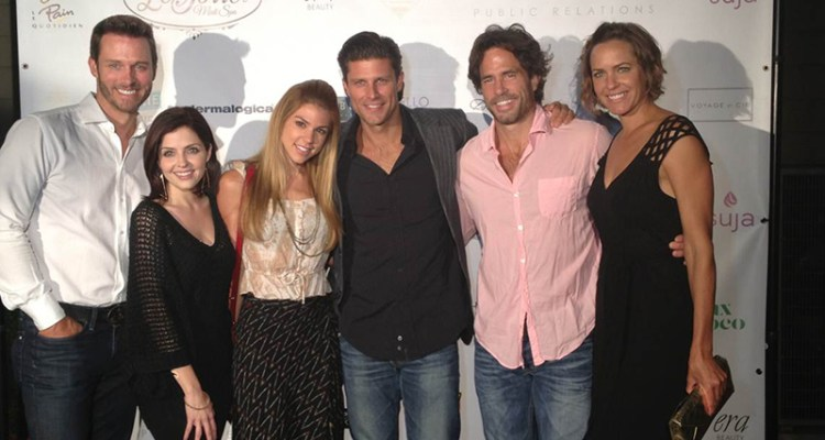 Pictured: Eric Martsolf, Jen Lilley, Kate Mansi, Greg Vaughan, Shawn Christian, and Arianne Zucker | Photo Credit: THV Public Relations