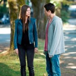 """The Tomorrow People -- """"Girl Interrupted"""" -- Image Number: TP103b_0062.jpg -- Pictured (L-R): Peyton List as Cara and Robbie Amell as Stephen--  Photo: Cate Cameron/The CW --  ©2013 The CW Network, LLC. All rights reserved."""