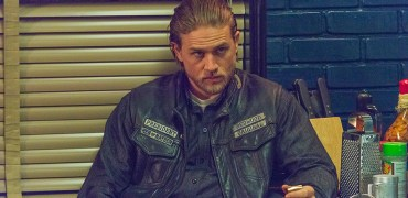 "SONS OF ANARCHY -- ""Some Strange Eruption"" -- Episode 705 -- Airs Tuesday, October 7, 10:00 pm e/p) -- Pictured: Charlie Hunnam as Jackson ""Jax"" Teller. CR: Prashant Gupta/FX"