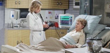 Victor and Roman convince Kayla to use the experimental drug on Caroline.