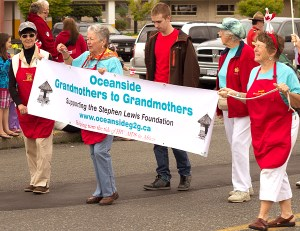 Oceanside Grandmothers to Grandmothers