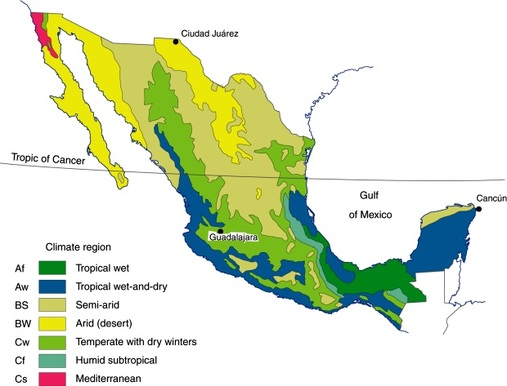 Physical Geography and Environment - Mexico