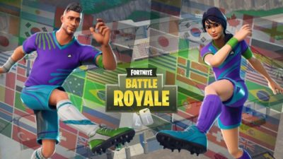 Fortnite Releases Skins in Celebration of the World Cup