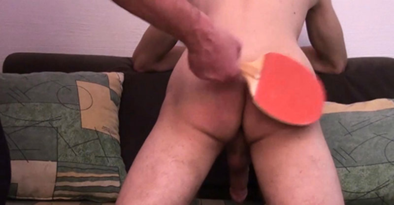 Teen Gets Hard and Cums During Spanking From Daddy!