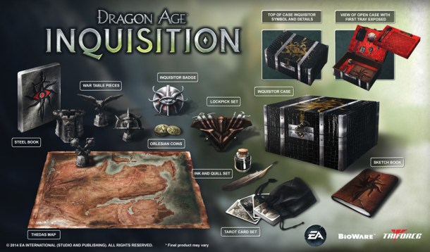 dragon age collector's edition