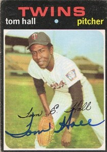 Tommy Hall - Twins pitcher from 1968 - 1971