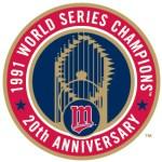 2011 20 year anniversary logo of 1991 World Championship