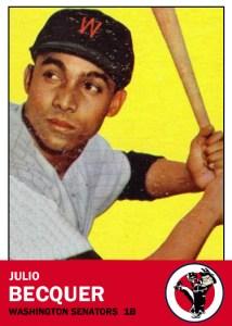 Julio Becquer 1960