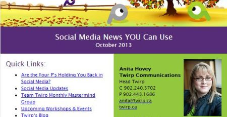 Twirp Communications eNewsletter