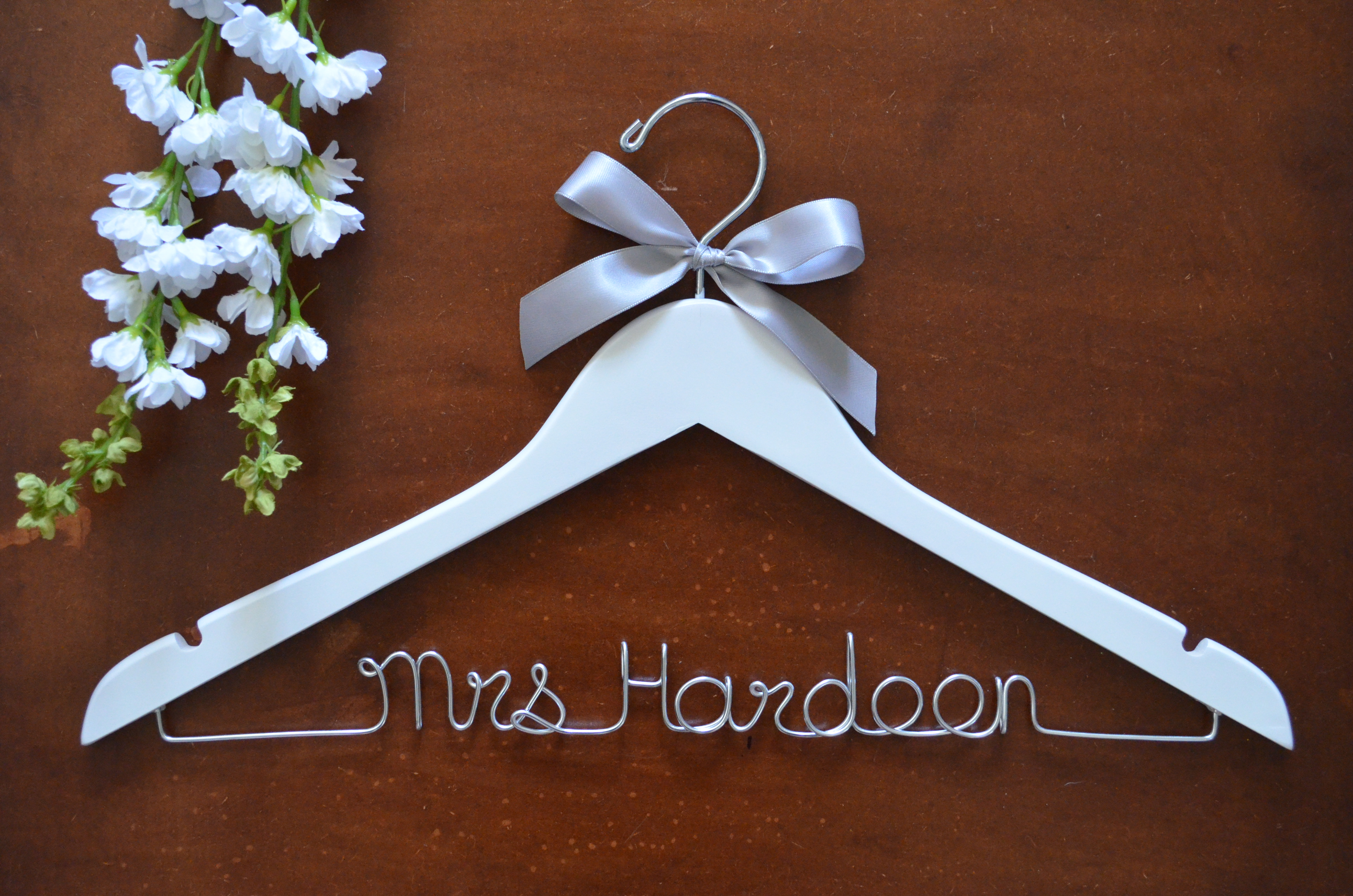 twistedhangers wedding hangers personalized wedding hanger