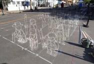 The Inventor and Master of 3D Sidewalk Chalk Art – KurtWenner