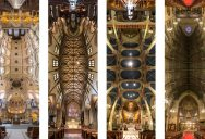 Amazing Vertical Panoramas of Church Ceilings Around theWorld