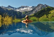 People are Calling This Rooftop Infinity Pool in the Swiss Alps the Stairway toHeaven