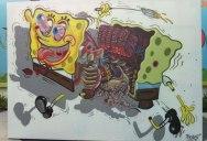 Lenticular Street Art byRoa