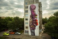 Colossal Street Art by Sainer and Bezt