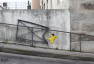 Playful Diversions on the Streets of France by OakOak