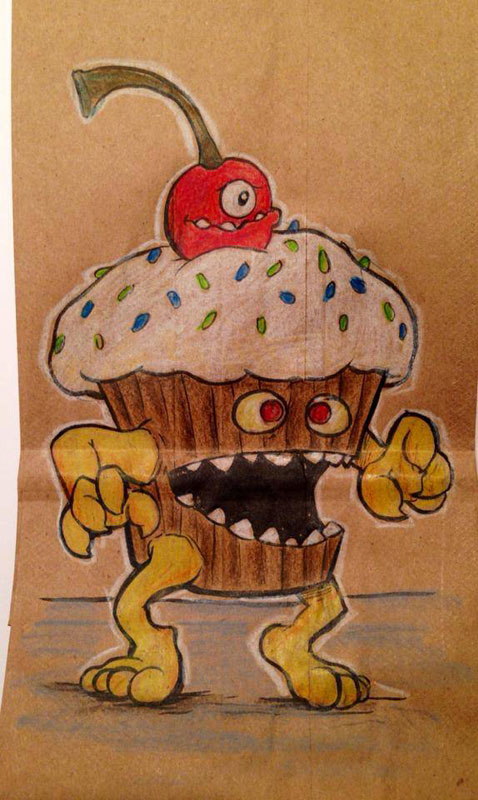 LUNCH BAG ART BY BRYAN DUNN (16)
