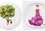 Creative Food Art Portraits by HongYi