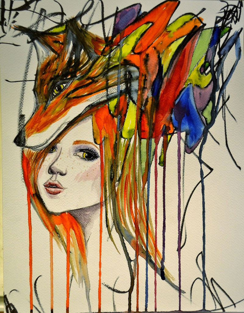 ruth-oosterman-Turns-Daughters-Sketches-Into-Watercolor-Paintings-9