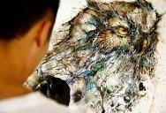 Splatter Portraits by HuaTunan