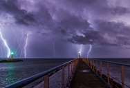 Picture of the Day: Long Exposure Lightning Storm
