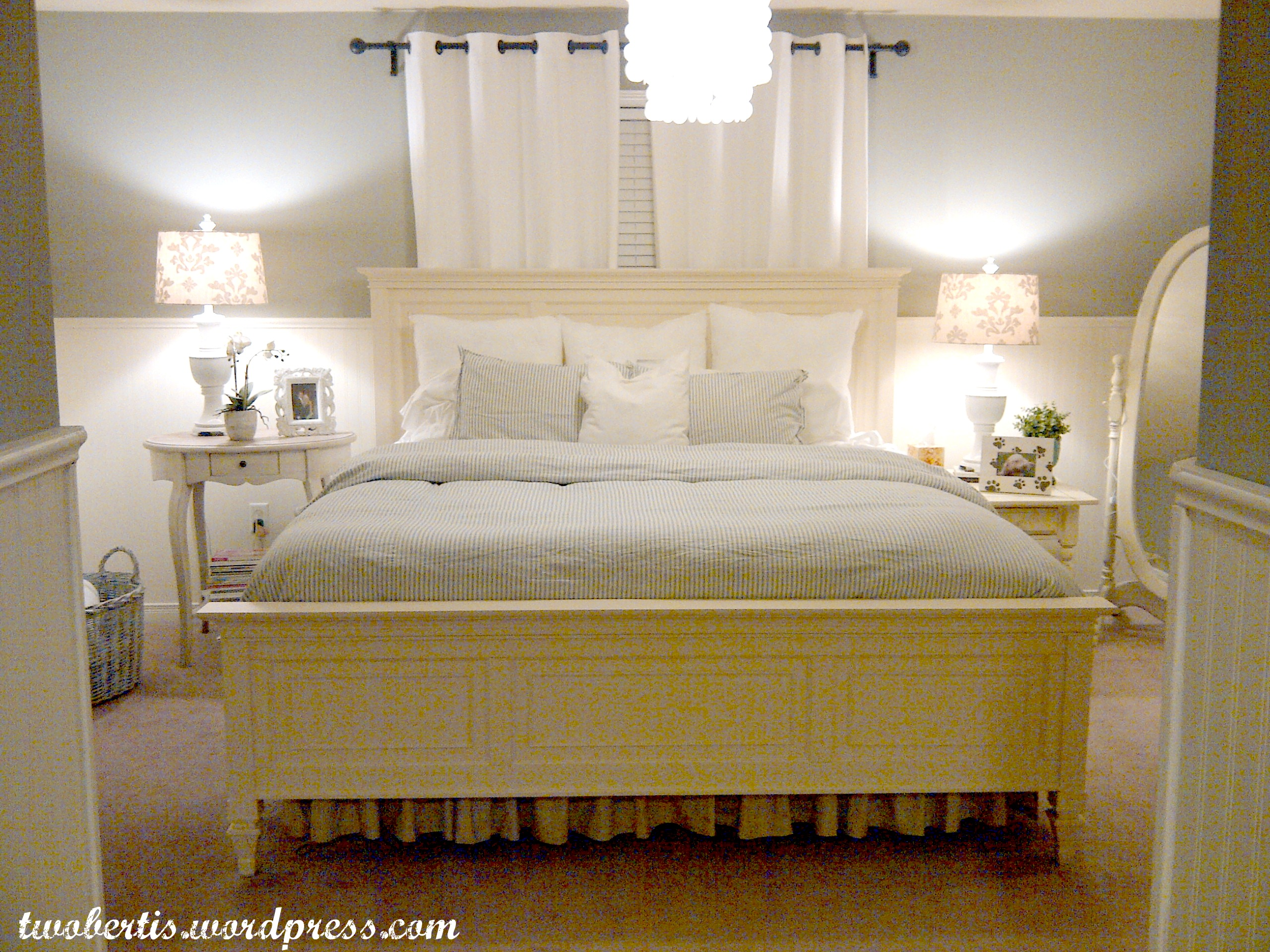 Supple Remodelaholic Pottery Barn Inspired Master Bedroom Makeover Pottery Barn Bed Pillows Pottery Barn Bedroom Furniture baby Pottery Barn Bed