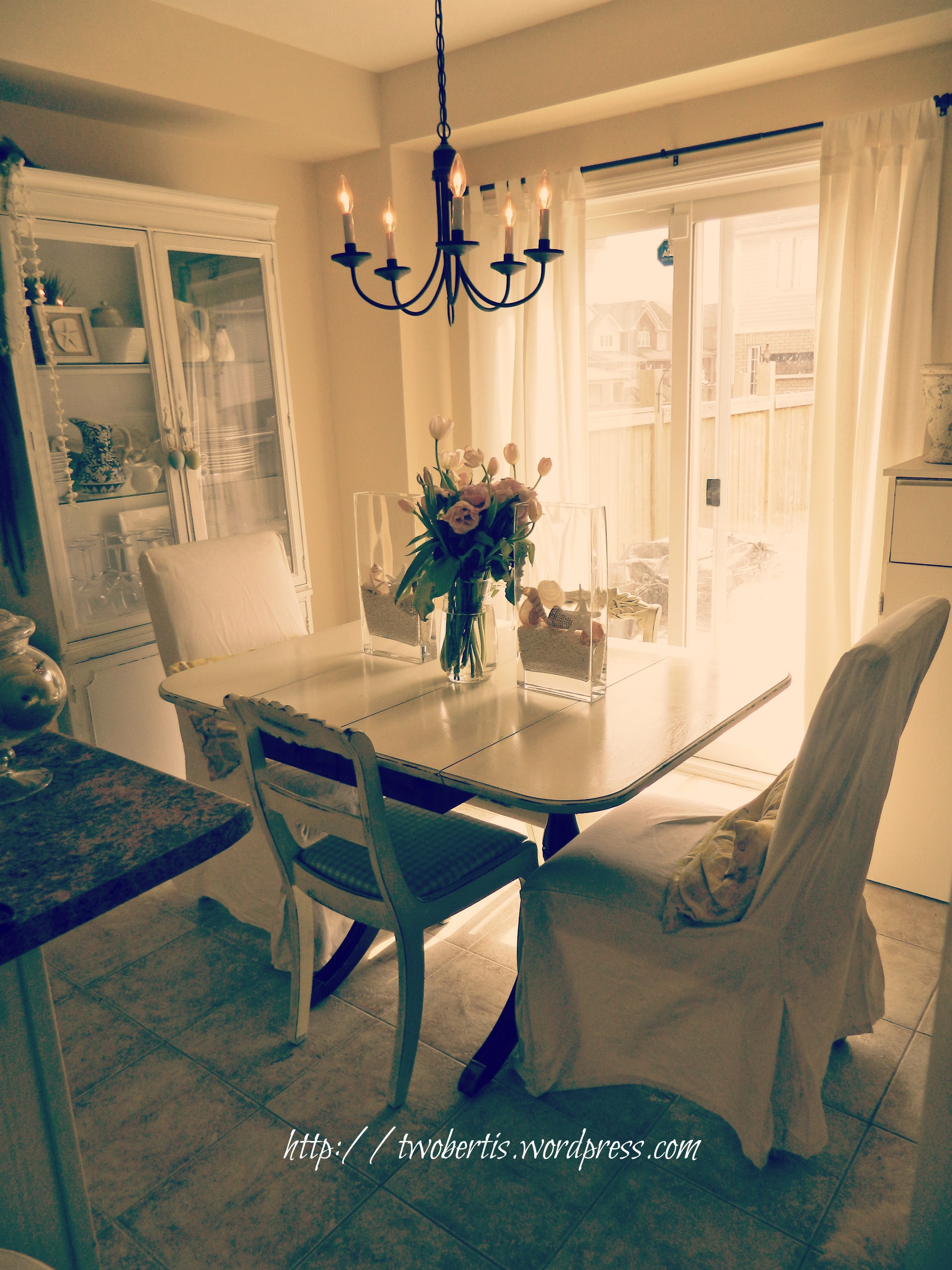 beach home beachy kitchen table Are