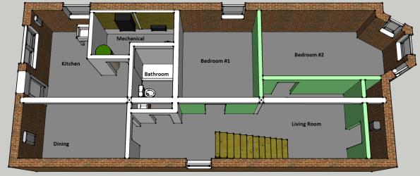 Basement Apartment Plan