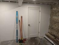 Door installed and cased