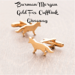 Burman Morgan Gold Fox Cufflink Giveaway