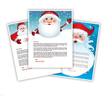 Free Personalized Letter From Santa For Your Child