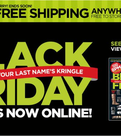 JC Penney Black Friday Sale