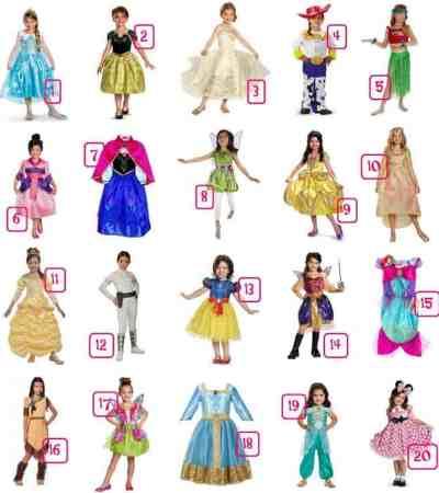 Girls Disney Halloween Costume Ideas