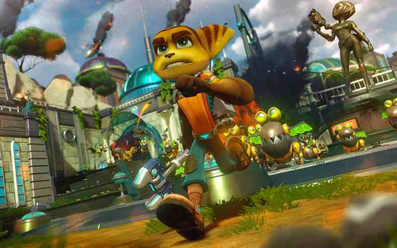 Ratchet and Clank Now Available on PS4 PLUS Coming Soon to Theaters #RatchetandClank