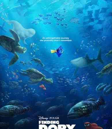 Finding Dory Colofing Pages