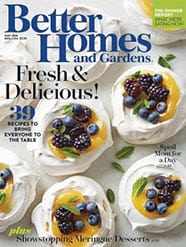 Free Subscription to Better Homes and Gardens