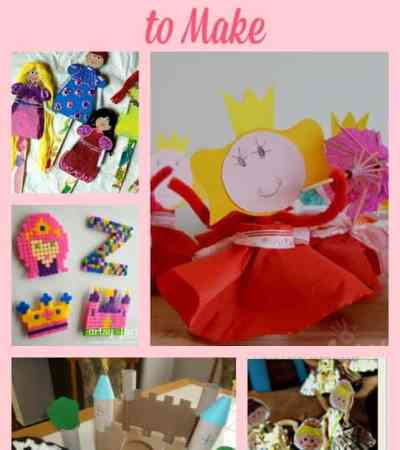 Princess Craft Ideas