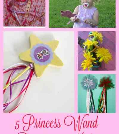 Princess Wand Craft Projects