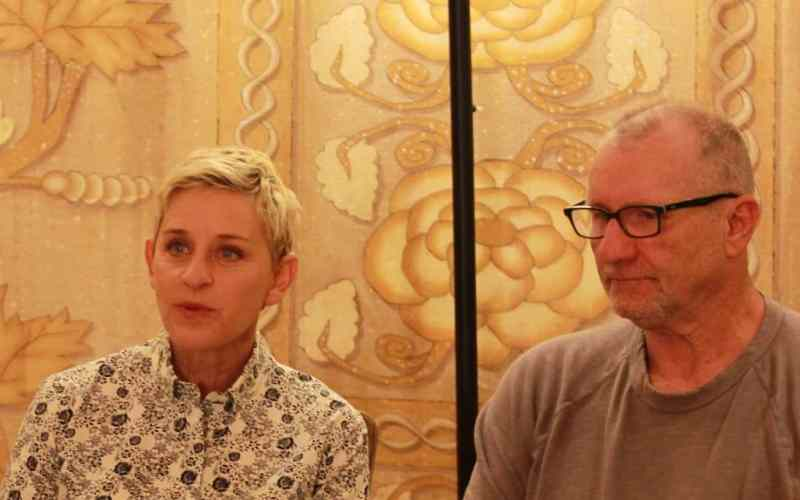 Ellen DeGeneres and Ed O'Neill Discuss Finding Dory – #FindingDoryEvent #FindingDory