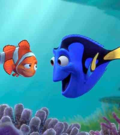 Finding Nemo on TV