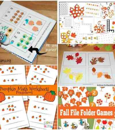 Looking for a fun way to help your kids to learn this fall? These fall learning pages are fun and educational.