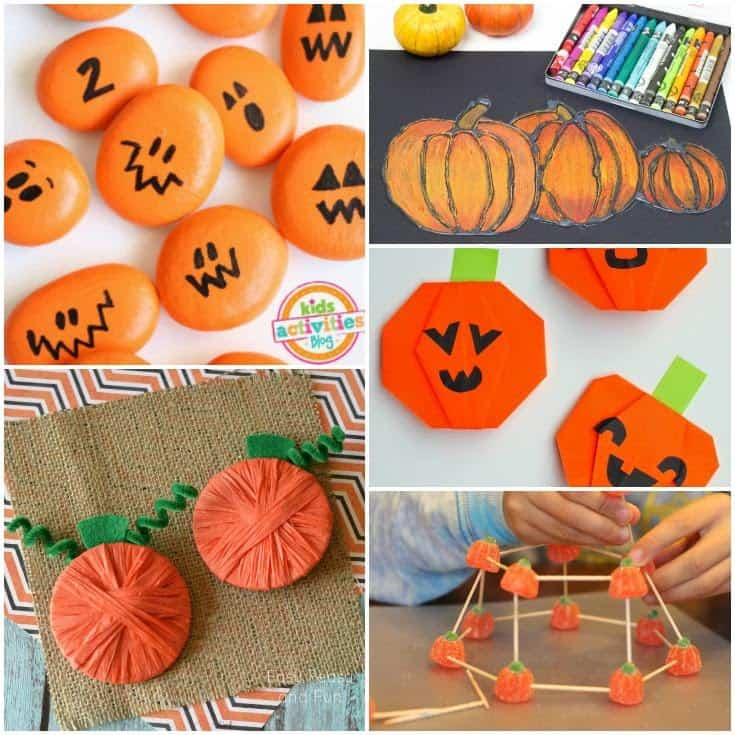 Adorable Pumpkin Crafts for Kids