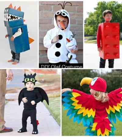 Making costumes this year? Here are some of our favorite DIY Halloween Costumes for kids you'll want to check out