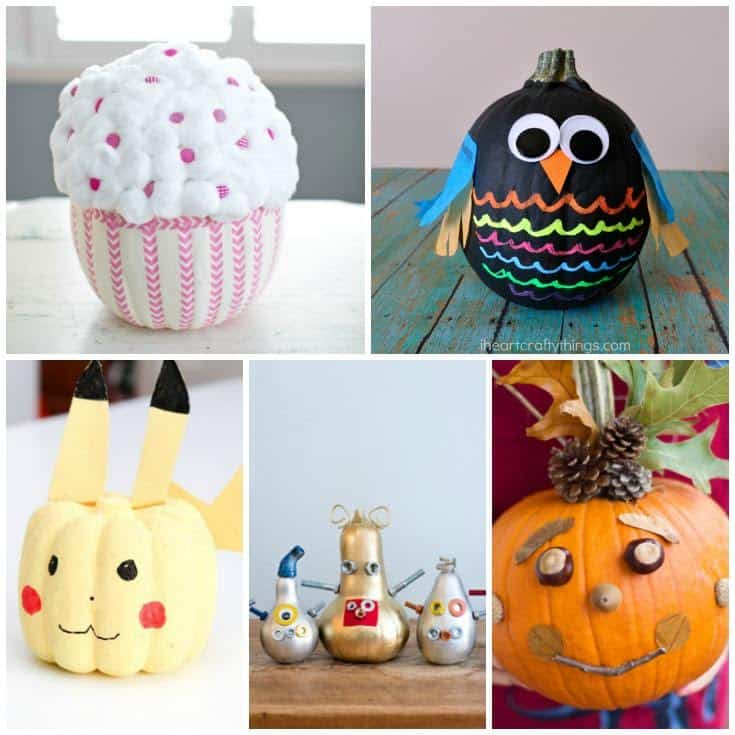 Cute No Carve Pumpkins Ideas You Won't Want to Miss