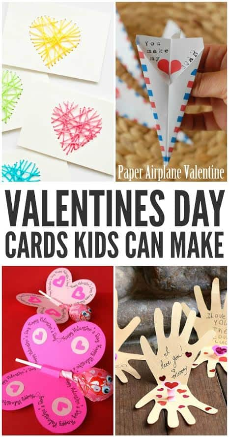 Valentine 39 S Day Cards Kids Can Make Two Kids And A Coupon